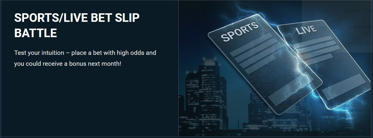 Sports Live bet slip battle